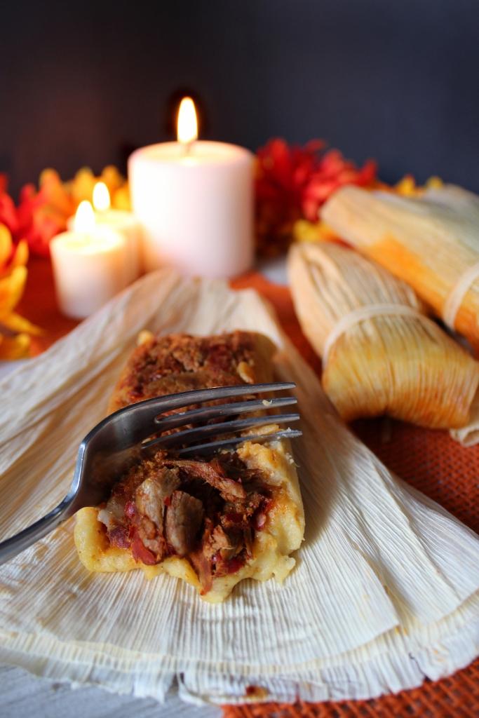 Abuelita's Pork Tamale Recipe from Disney and Pixar's Coco.