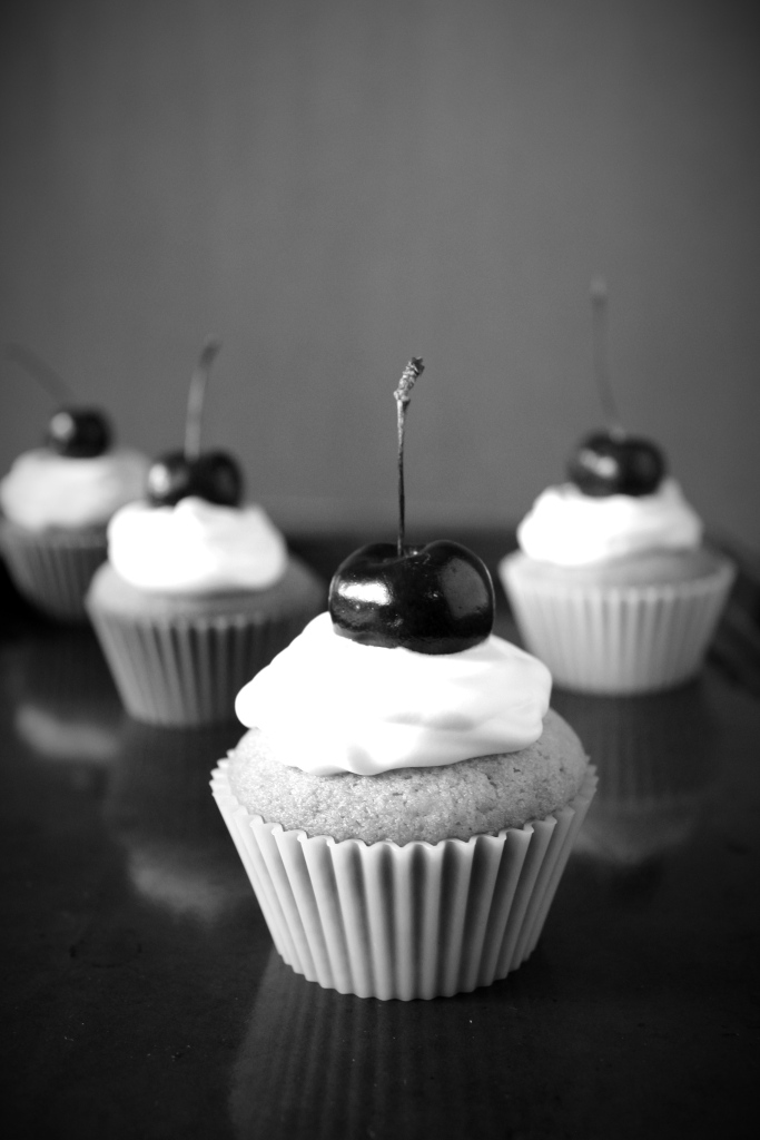 Mrs. Frankenstein's Double Dutch Cherry Muffins from Disney and Tim Burton's FrankenWeenie.