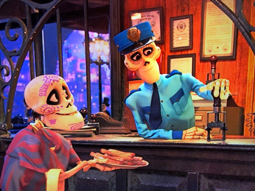 A Returning Skeleton's Churro Recipe from Disney and Pixar's Coco.