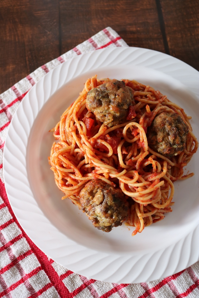 Tony's Spaghetti and Meatball Recipe from Disney's Lady and the Tramp.