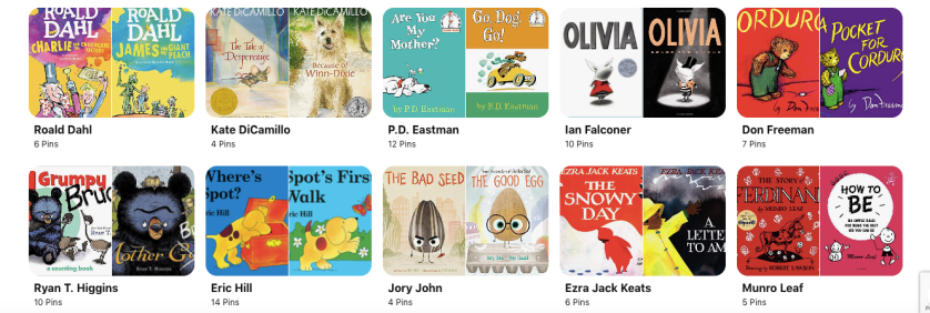Children and Young Adult Books for Zoey.