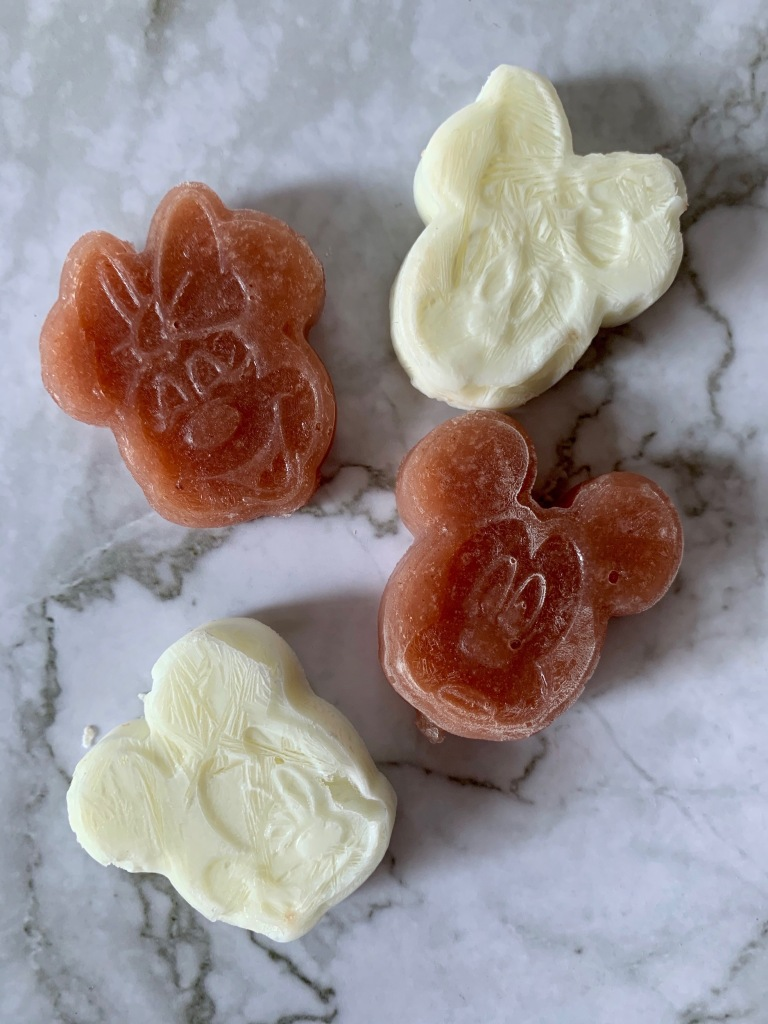 DIY Frozen Mickey and Minnie Baby Treats using Candy Molds