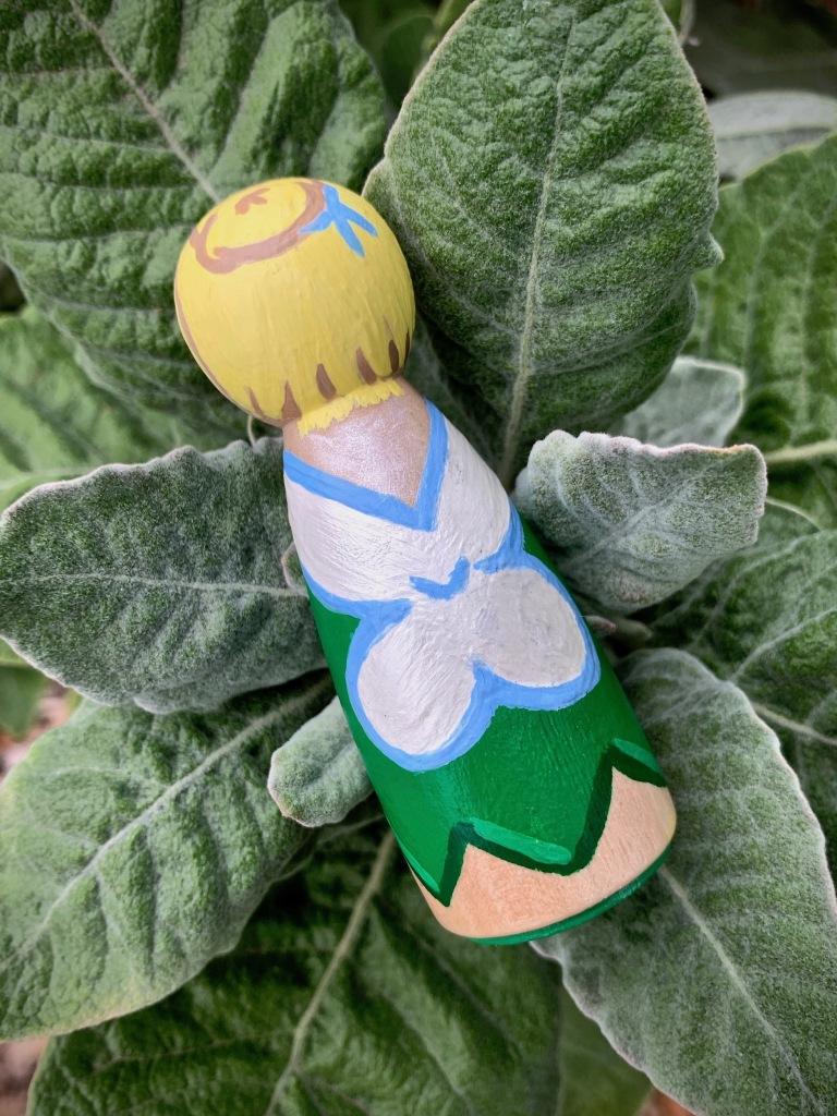 DIY Tinker Bell Peg Doll