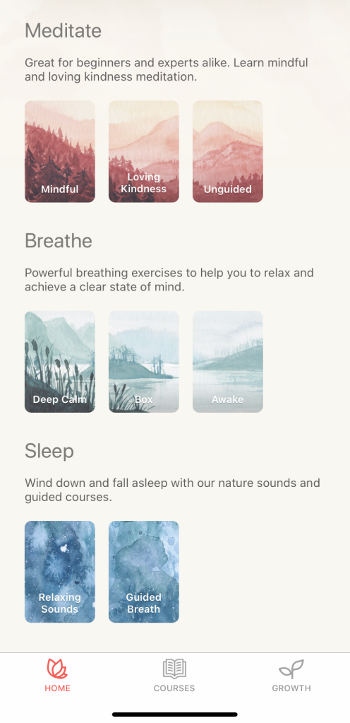 Let's Try Meditation with The Free Oak - Meditation and Breathing Application