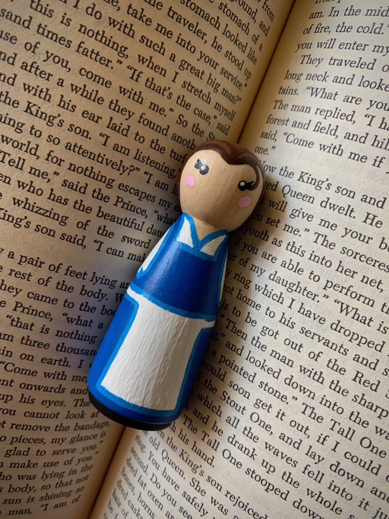 DIY Peasant Belle Peg Doll