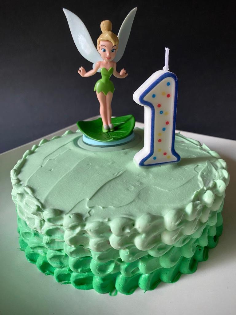 Disney Tinker Bell Smash Cake Recipe