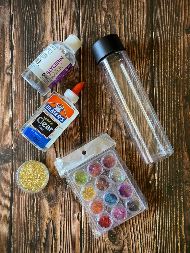 DIY Autumn Leaves Sensory Bottle