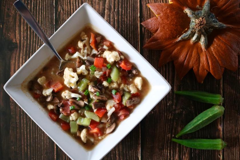 Tiana's Bayou Vegetarian Gumbo Recipe
