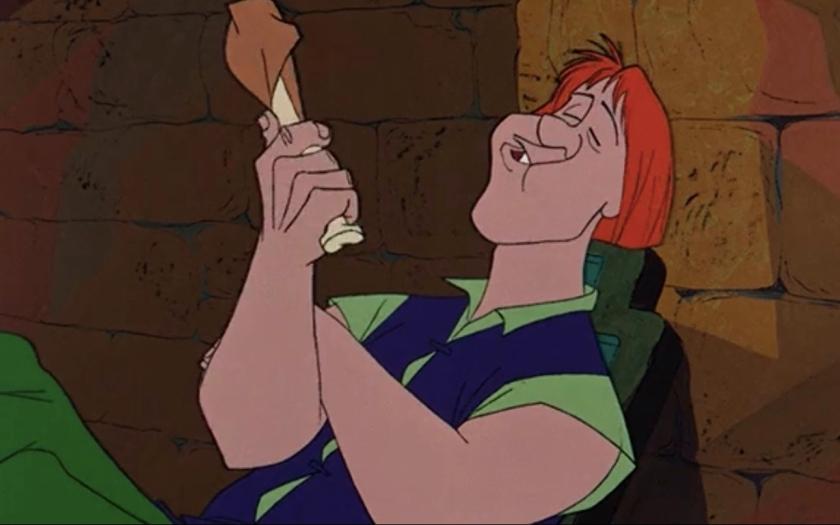 Sir Kay's Turkey Leg Recipe (Sword in the Stone)
