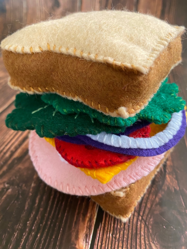 DIY Felt Sandwich