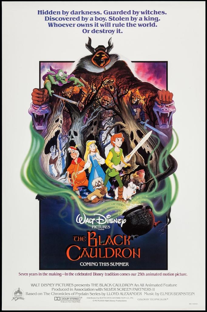 The Black Cauldron Movie Poster